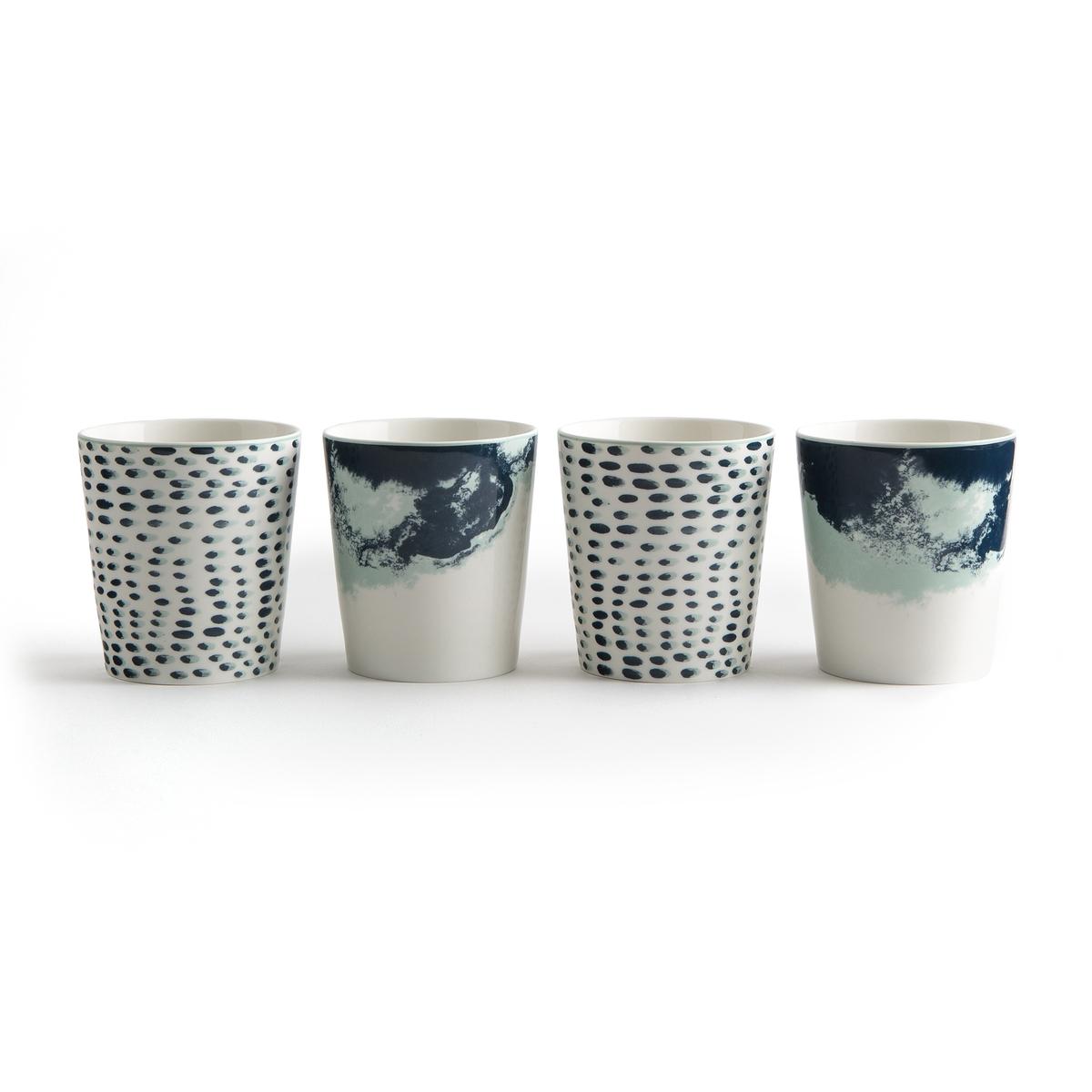 4 кружки из керамики ECUME от La Redoute