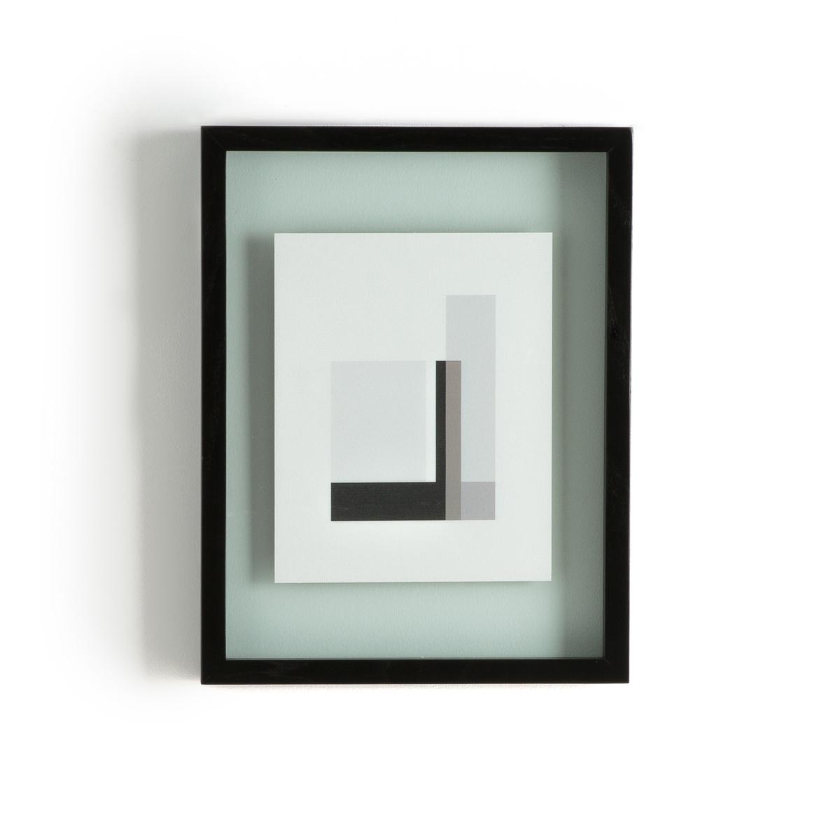 Рамка 3D DidaraРамка 3D Didara. Красивая и оригинальная рамка с двойным стеклом идеальна для размещения Ваших фотографий или растений..... Характеристики : Рамка из ясеня с черным покрытием .Двойное стекло : толщина 1,2 см.Размеры : - 34 x 44 см<br><br>Цвет: черный<br>Размер: единый размер