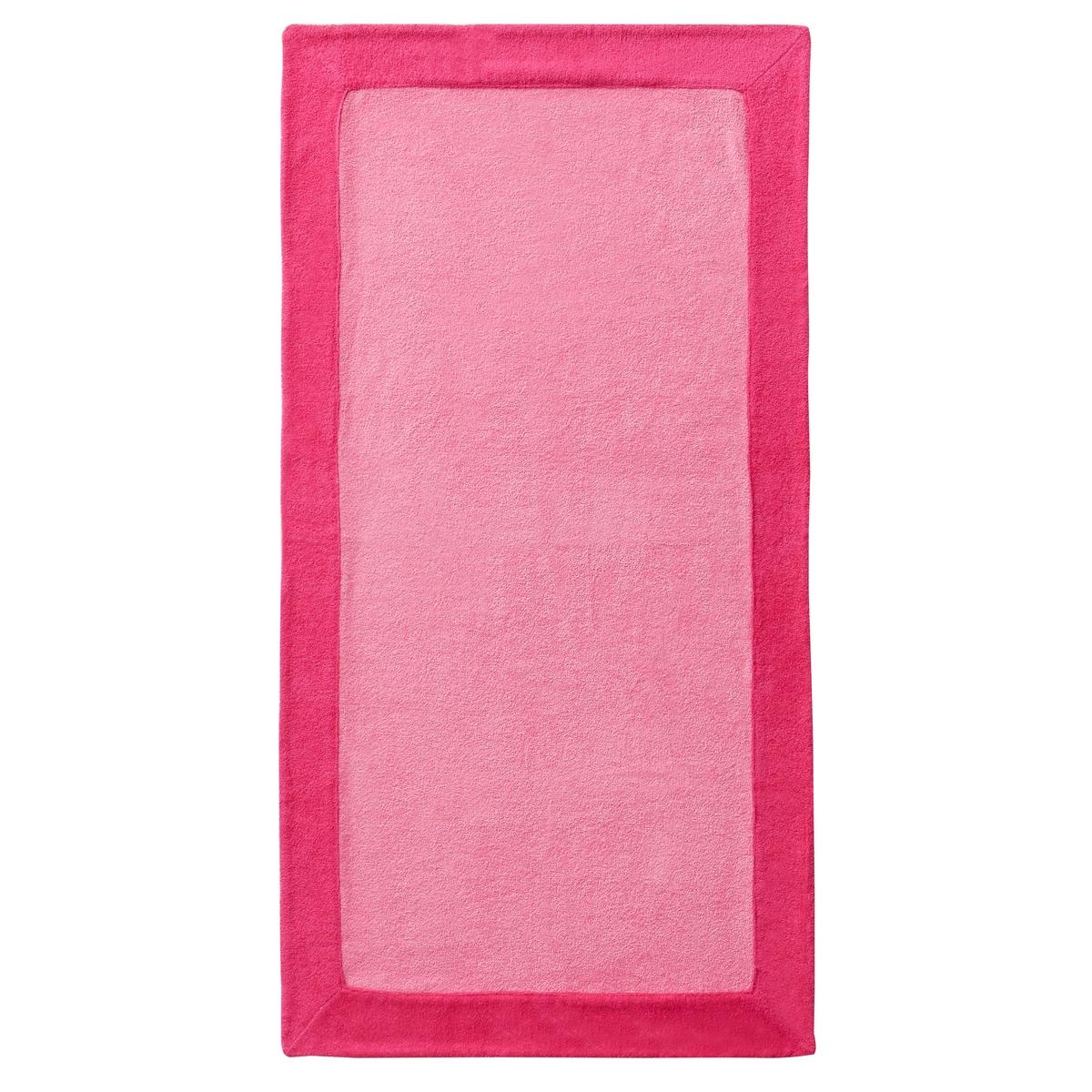 Полотенце пляжное FashionataПолотенце пляжное FashionataХарактеристики пляжного полотенца Fashionata :Махровая ткань, 100% хлопок.490 г/м?.Машинная стирка при 60 °С.Размеры пляжного полотенца Fashionata :90 x 170 см<br><br>Цвет: розовый<br>Размер: единый размер