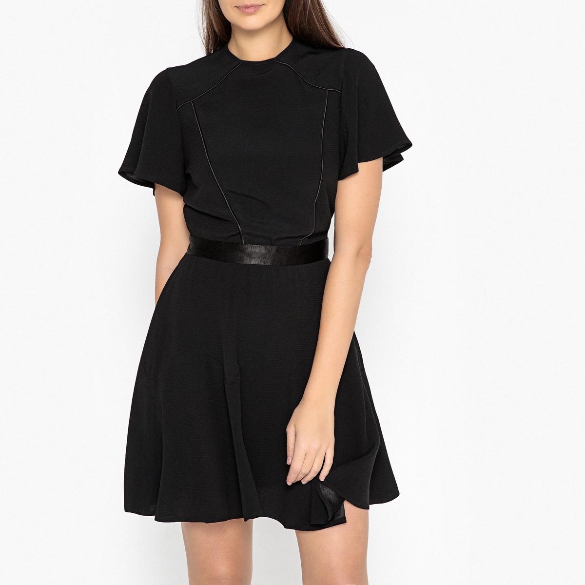 Платье La Redoute Расклешенное Эксклюзив от Brand Boutique L черный