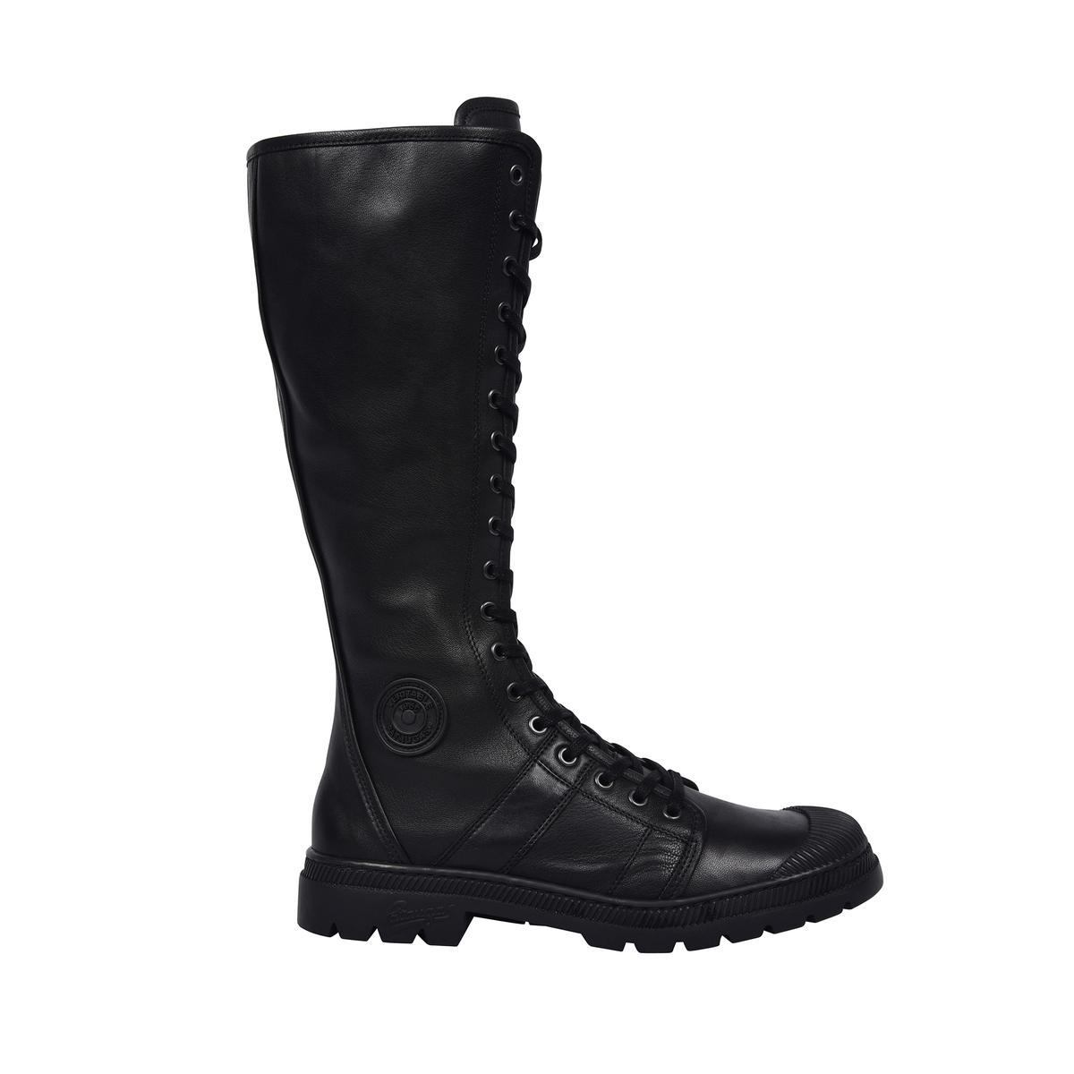 Сапоги кожаные на шнуровке Alto сапоги кожаные
