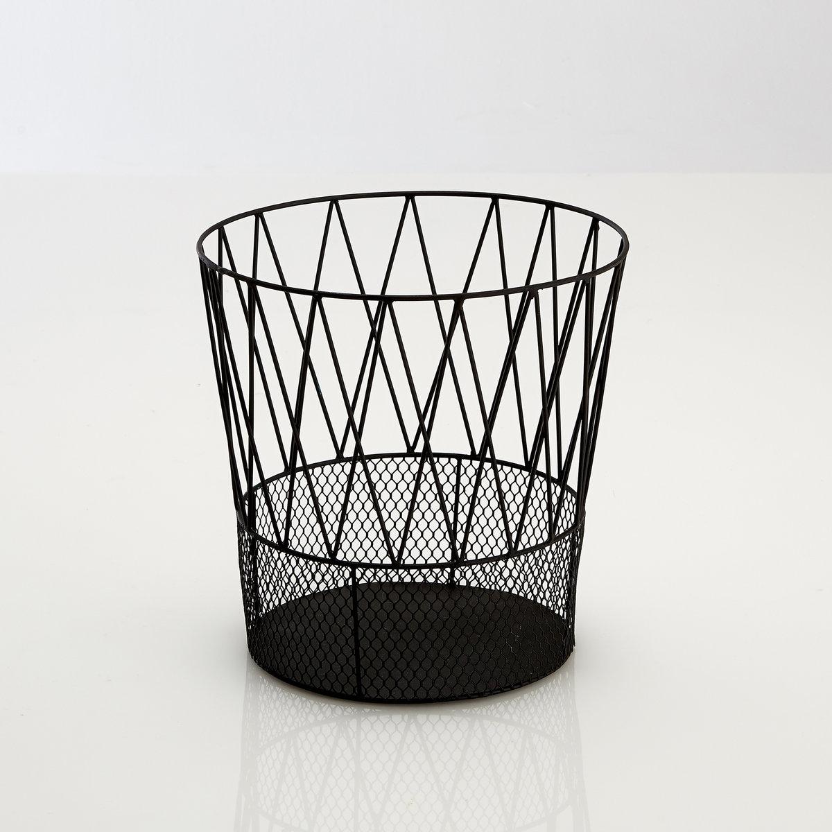 Металлическая корзина ЭльдеяХарактеристики :Металл с эпоксидным покрытием Размеры  :Высота 30 см? верхний 31 см? нижний  23см<br><br>Цвет: черный
