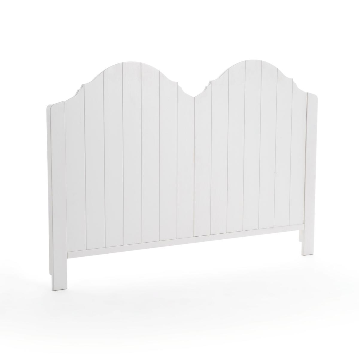 Изголовье LaRedoute Кровати 1-сп или 2-сп GRIMSBY 140 см белый кровати 140 см