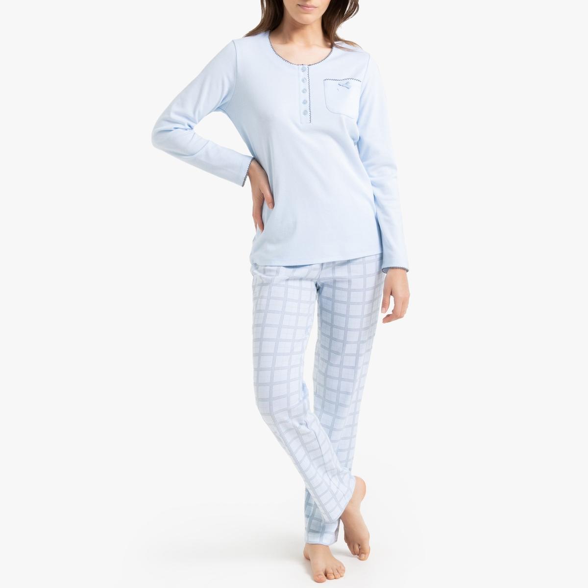 Pijama de manga larga