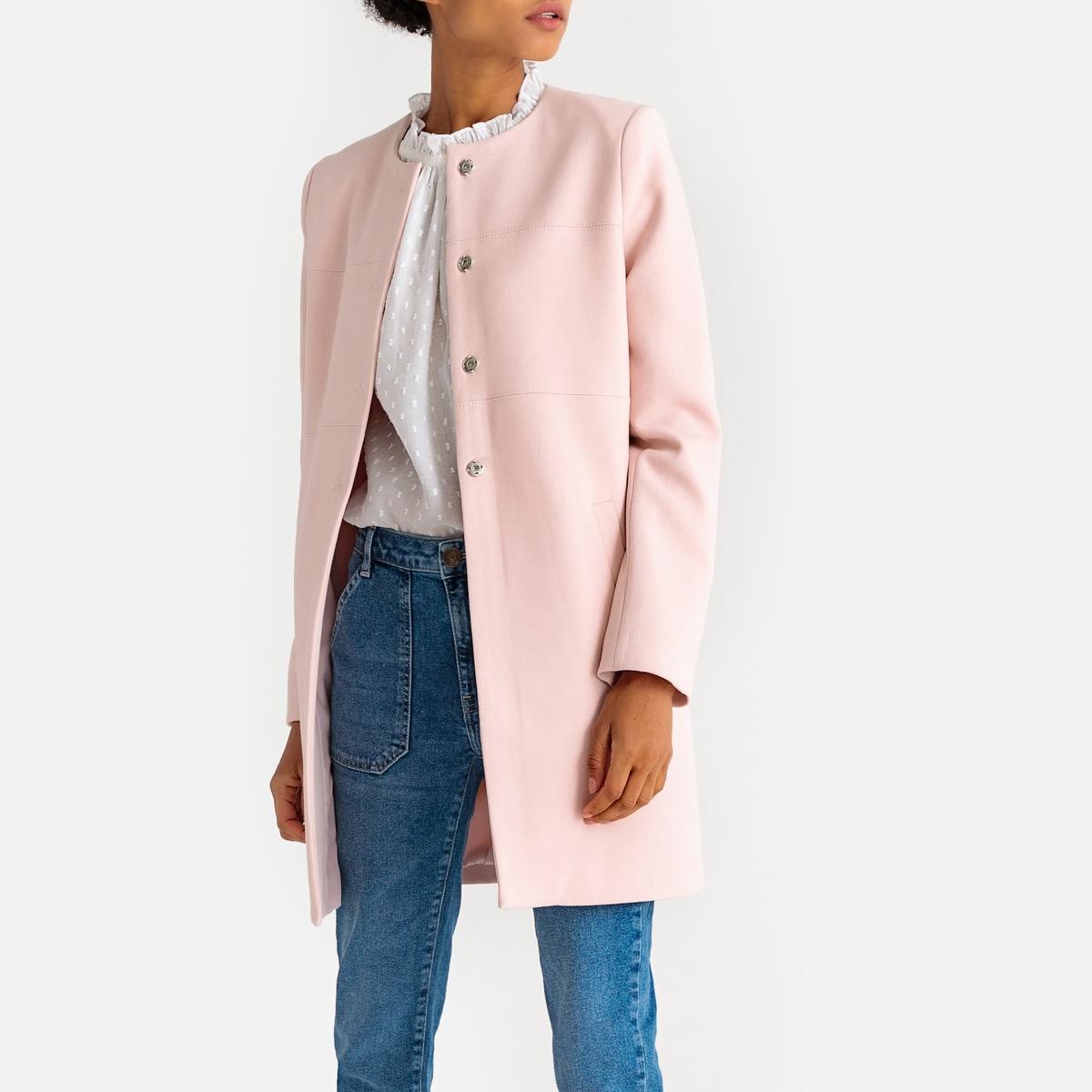 Пальто средней длины демисезонное