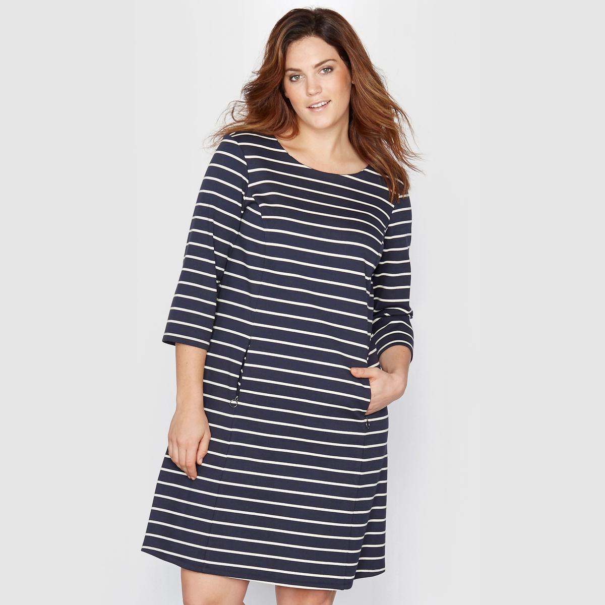 TAILLISSIME Платье из трикотажа с морским мотивом