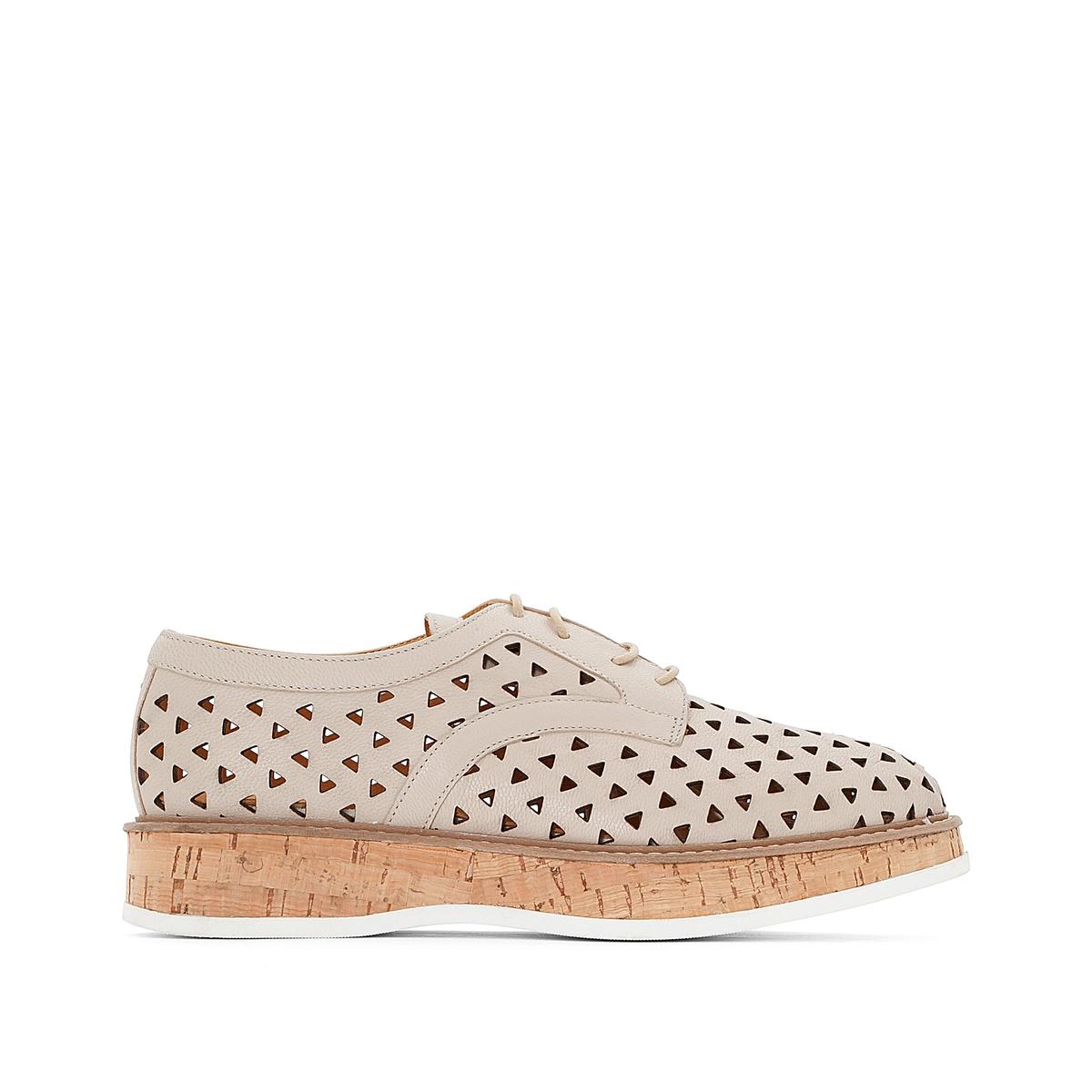 Ботинки-дерби кожаные Malou