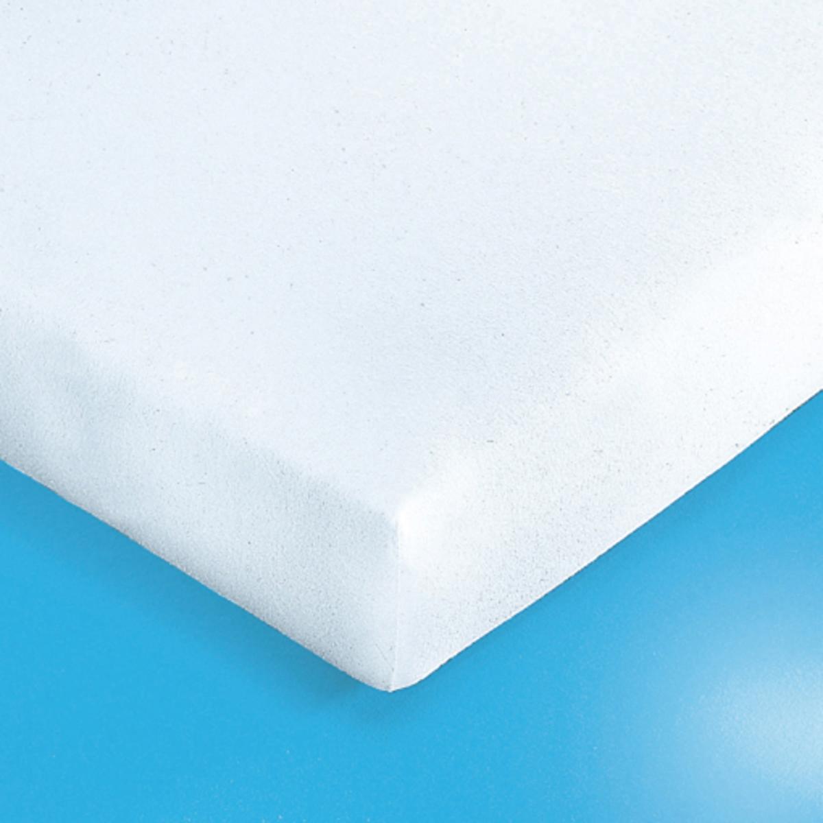 Чехол защитный на матрас из мольтона с пропиткойПодстилка в форме чехла из мольтона, 100% хлопок с начесом, оборотная сторона с акриловой пропиткой (280 г/м?), обработка SANITIZED против бактерий.Изделие с биоцидной обработкой Обеспечивает идеальную поддержку матрасов большой толщины (до 22 см).Можно кипятить при 95 °С с белизной.<br><br>Цвет: белый<br>Размер: 90 x 200 см