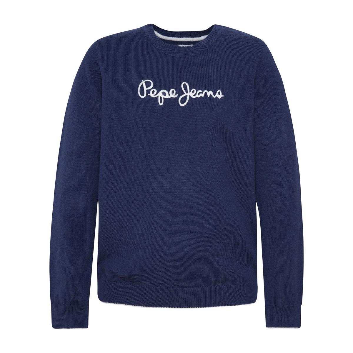 Пуловер La Redoute 10 лет - 138 см синий брюки la redoute 10 лет 138 см зеленый