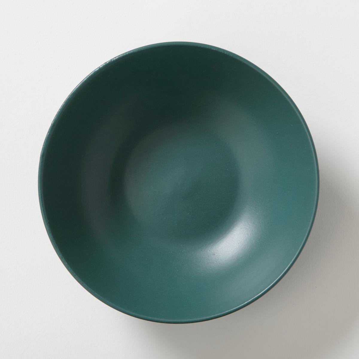 4 тарелки глубокие из матового фарфора, Abessi