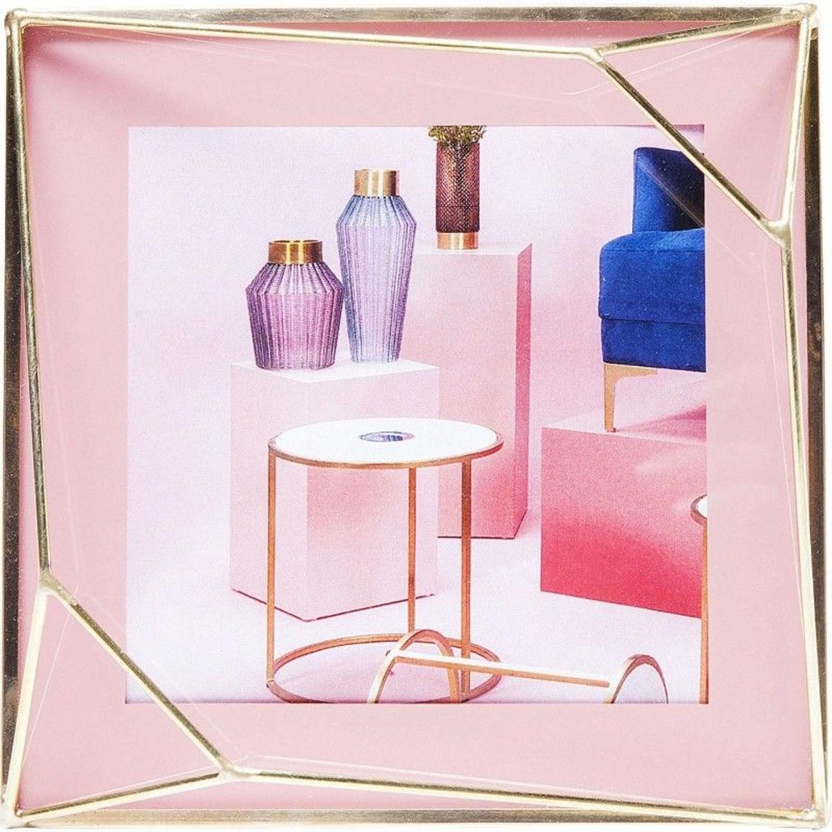 Cadre Art Pastel rose 10x10cm Kare Design