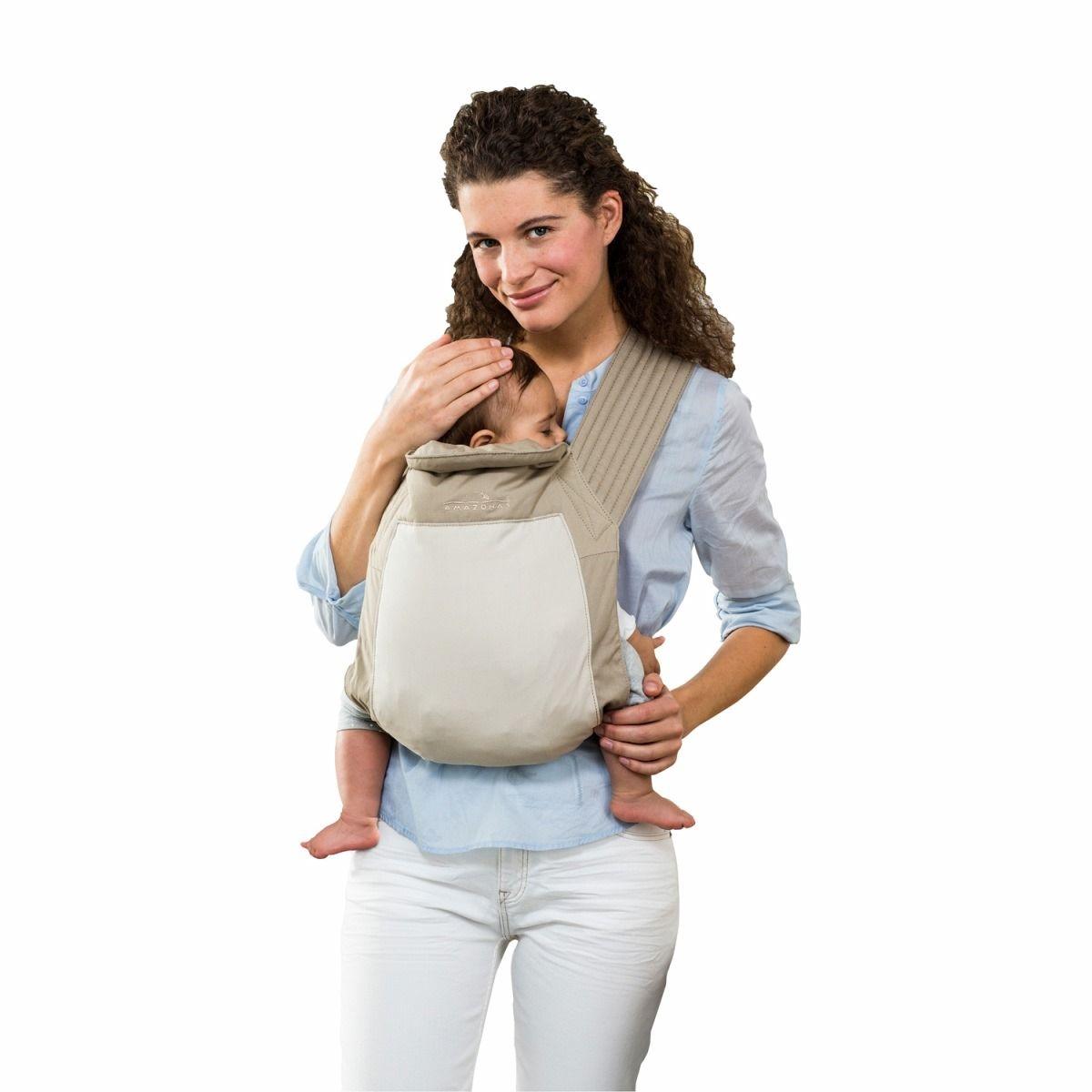 Echarpe Porte bébé Mei Tai Sable