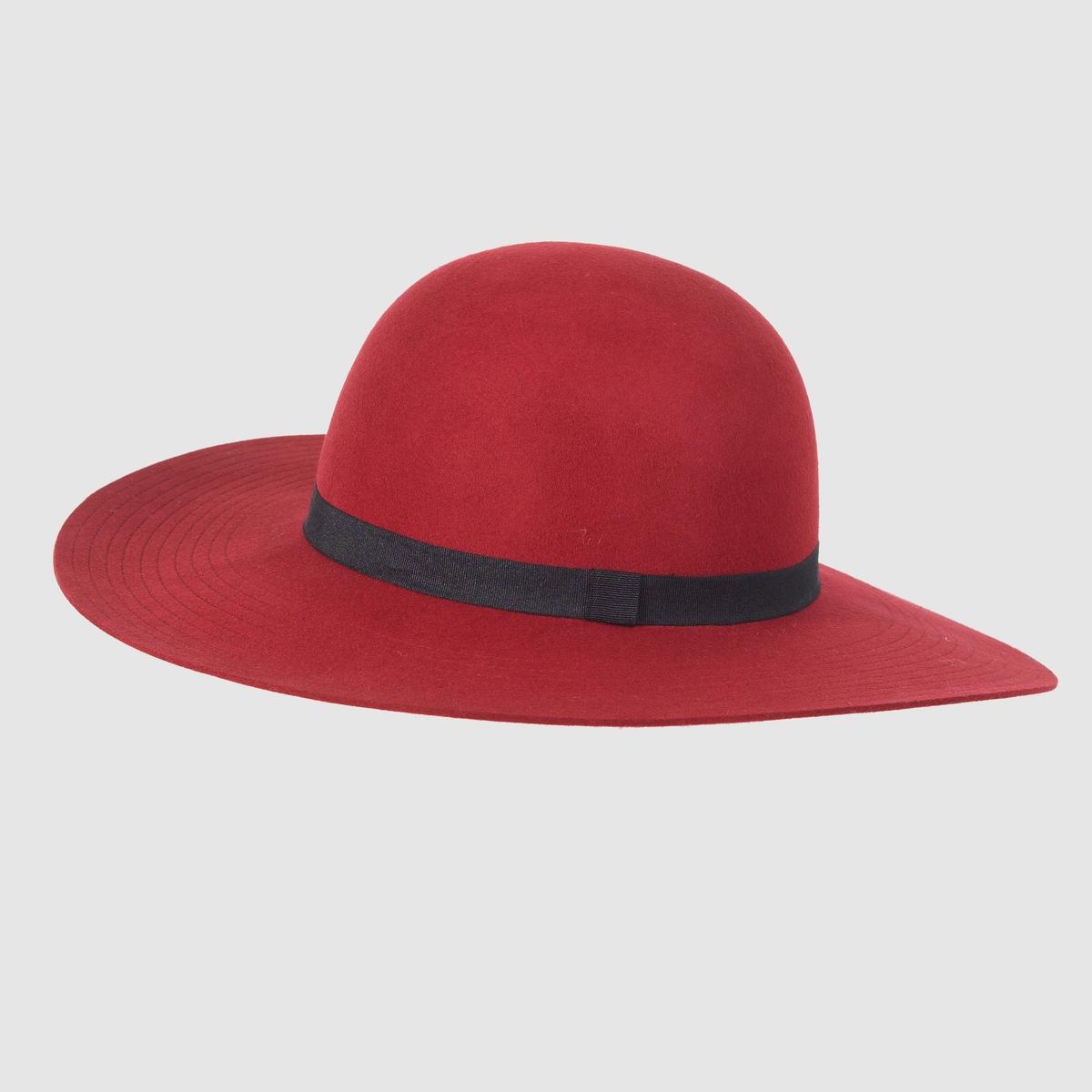 Шляпа с широкими поламиШляпа с широкими полами, R studio .Просто наденьте эту великолепную шляпу и придайте вашем прогулкам особенный стиль и шик ! Шляпа из 100% шерсти .<br><br>Цвет: бордовый,темно-синий<br>Размер: единый размер.единый размер