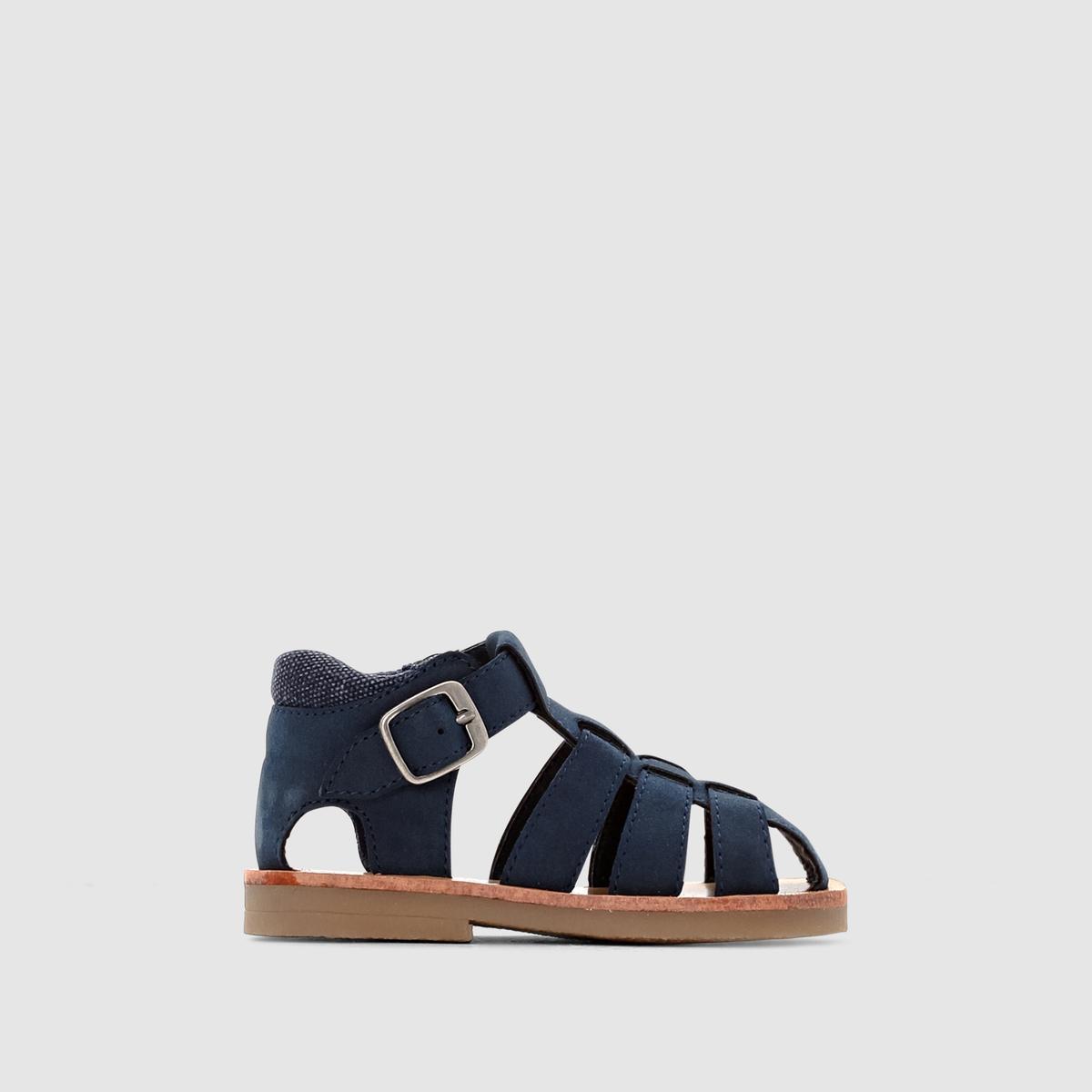 Купить со скидкой Босоножки на плоском каблуке Besan, размеры 19-25
