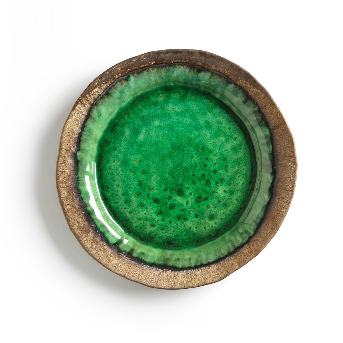Тарелка мелкая из глазурованной керамики, Altadill