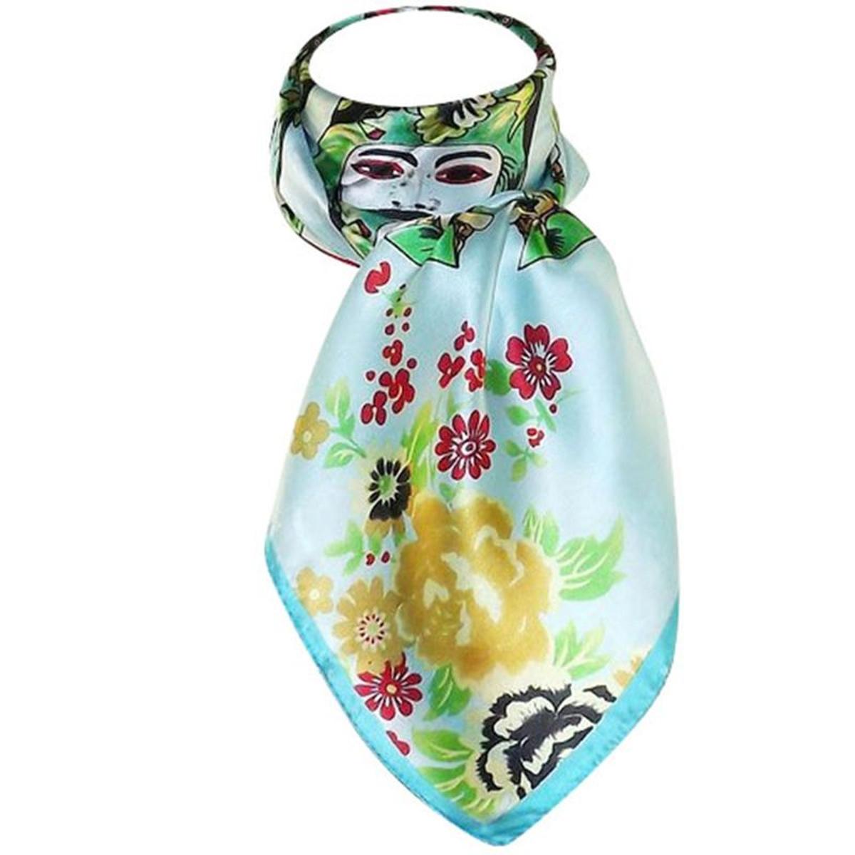 Grand foulard de soie venisia