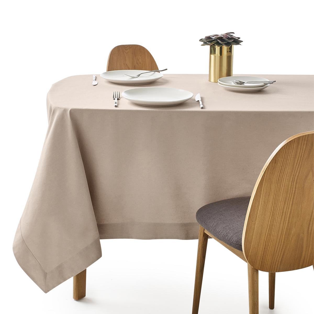 Скатерть из полушерстяной ткани, BORDERЭлегантная и изысканная скатерть из полушерстяной ткани для одновременно шикарного и аутентичного стола. Великолепная полушерстяная ткань, 45% льна, 55% хлопка, отделка углов конвертом. Машинная стирка при 40 °С.Натуральная полушерстяная ткань из волокон льна и хлопка, мягкая и устойчивая к стиркам.Широкие подшитые края шириной 7 см на лицевой стороне.<br><br>Цвет: антрацит,бежевый,белый,гранатовый,розовая пудра,светло-серый,Серо-синий,шафран<br>Размер: 150 x 150  см
