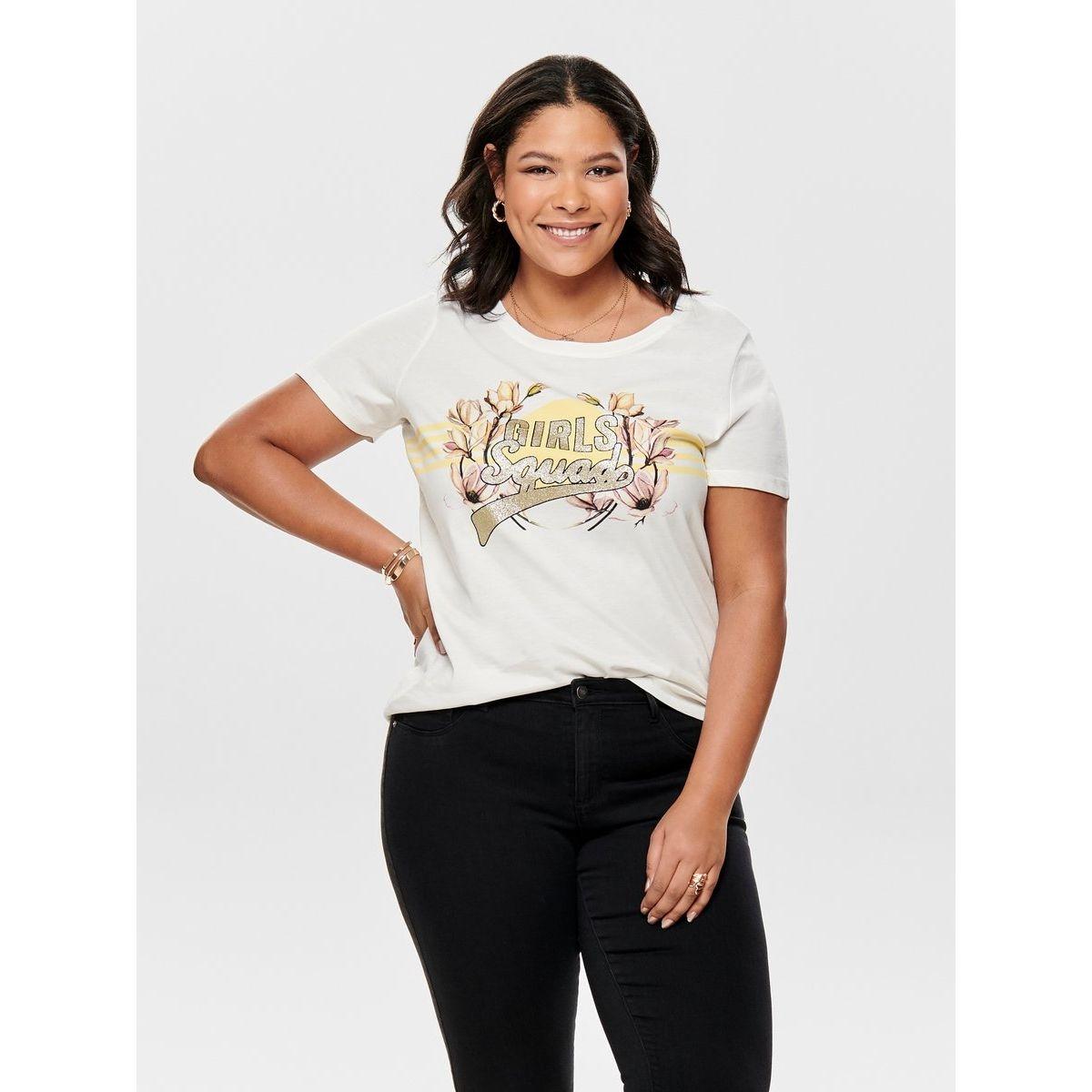 T-Shirt Voluptueux imprimé