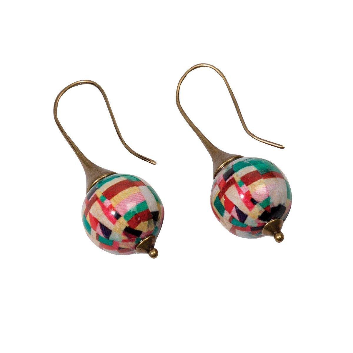 Boucles d'oreilles Ball