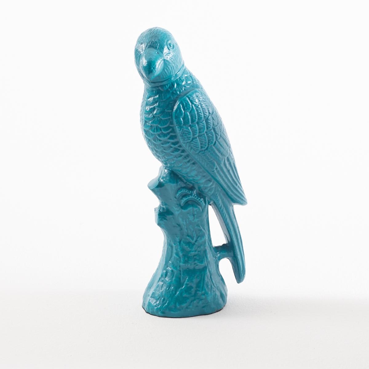 Попугай металлический AnekoМеталлический попугай Aneko: очень практичный и стильный предмет декора! Характеристики металлического попугая Aneko:выполнена из металла.Размеры металлического попугая Aneko:Д. 12,5 x 8 x В. 33 см.<br><br>Цвет: сине-зеленый