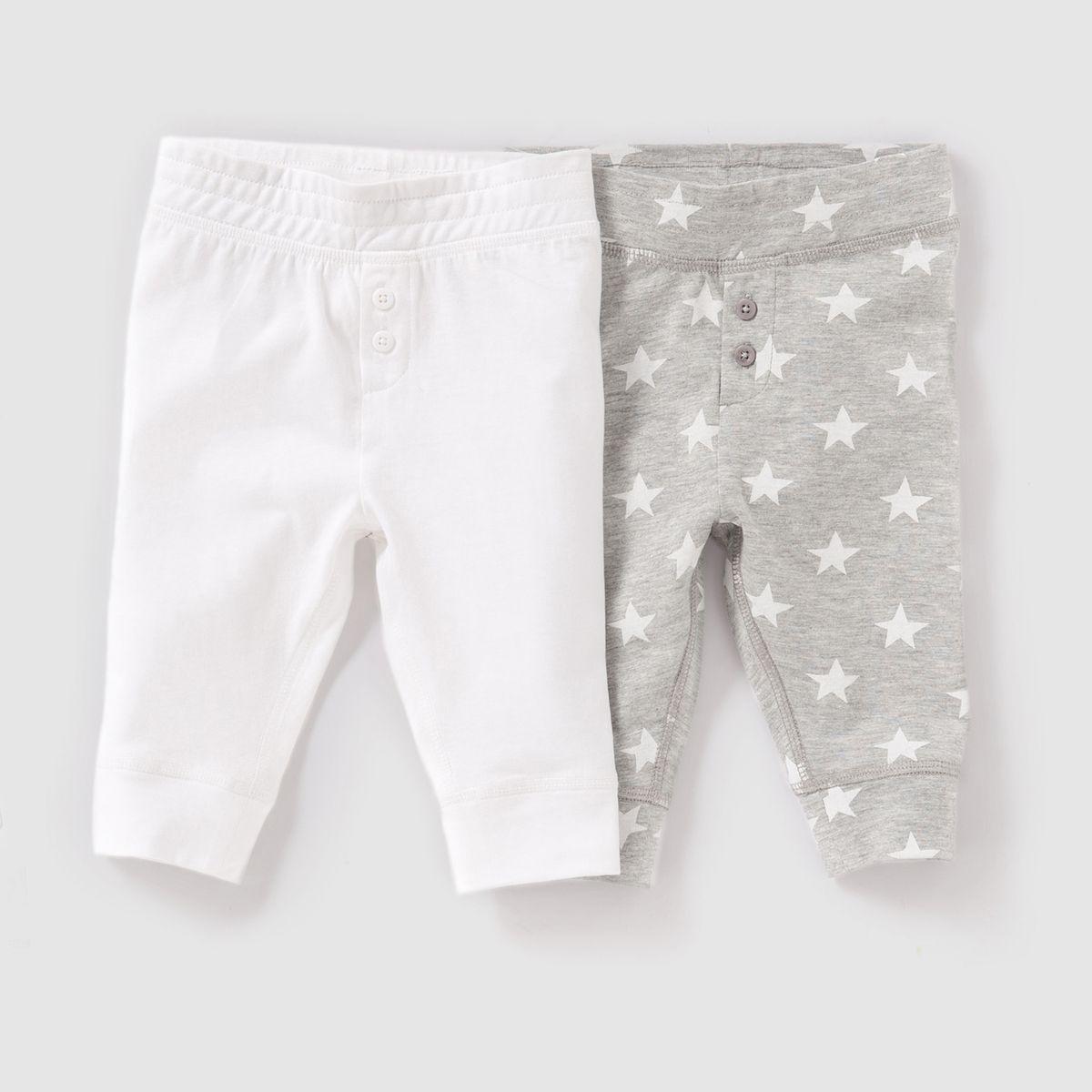 Lot de 2 pantalons 0 mois – 2 ans