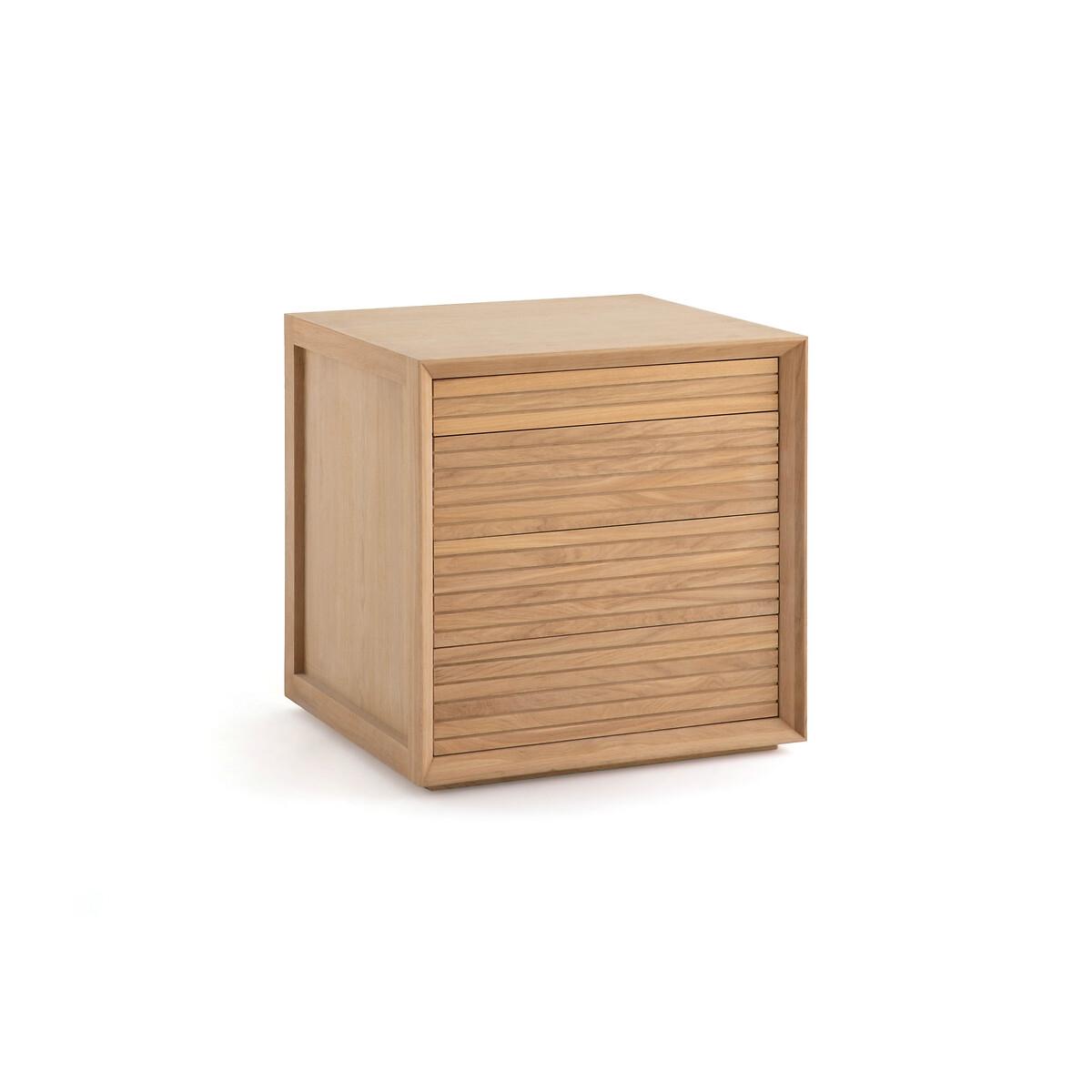 Шкаф LaRedoute Для одежды одинарный нижняя часть Joaquin единый размер каштановый