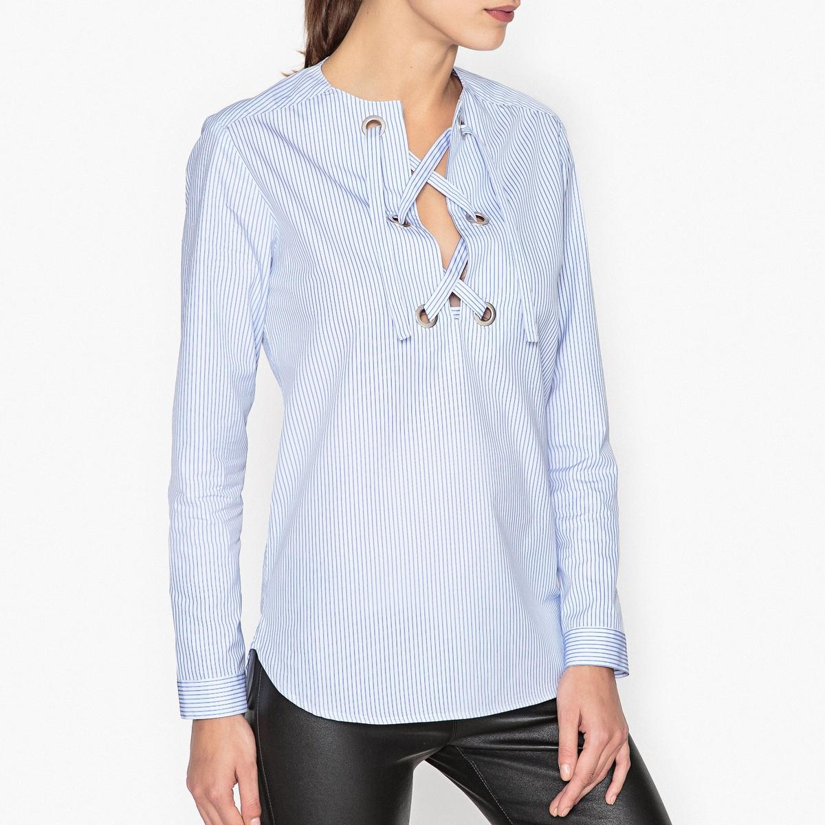 Блузка на шнуровке TAPE