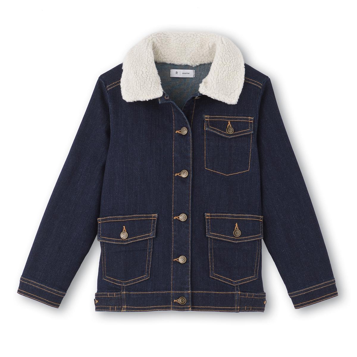 Куртка джинсовая, 3-12 лет куртка из твида 3 12 лет
