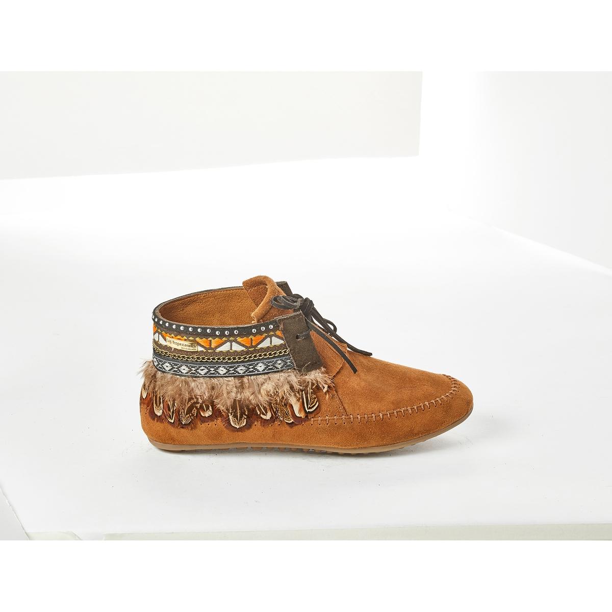 Мокасины кожаные Tomawok