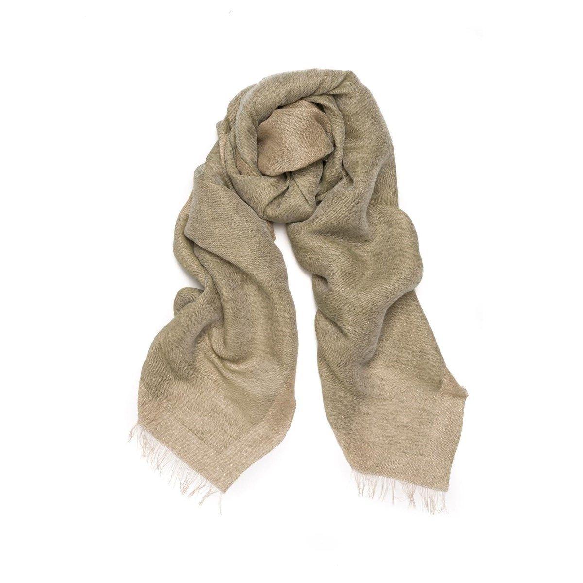 Foulard en lin et Fil textile®  Touareg