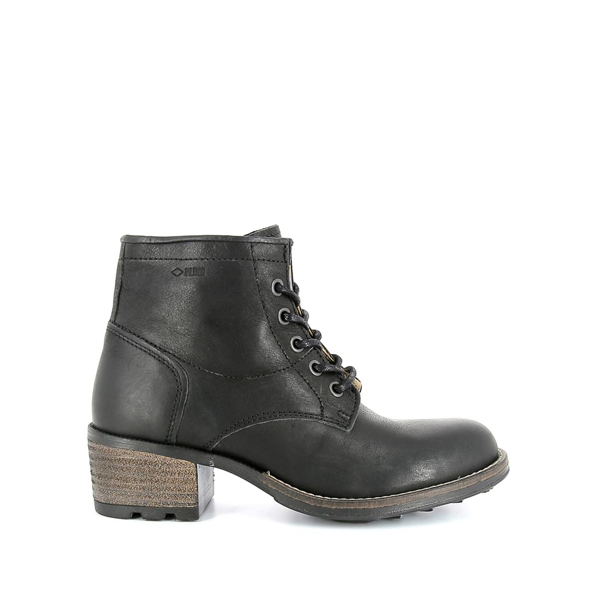 Ботинки из кожи на каблуке Carthy ботинки mariamare ботинки на каблуке
