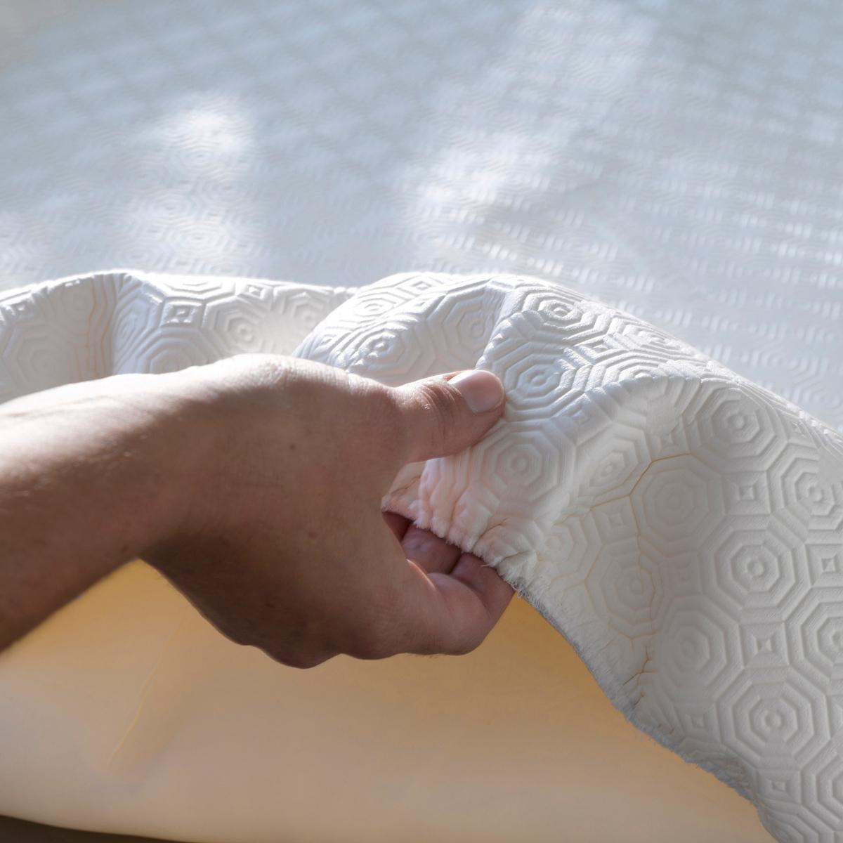 Copri-tavolo di protezione bianco per tavolo rotondo