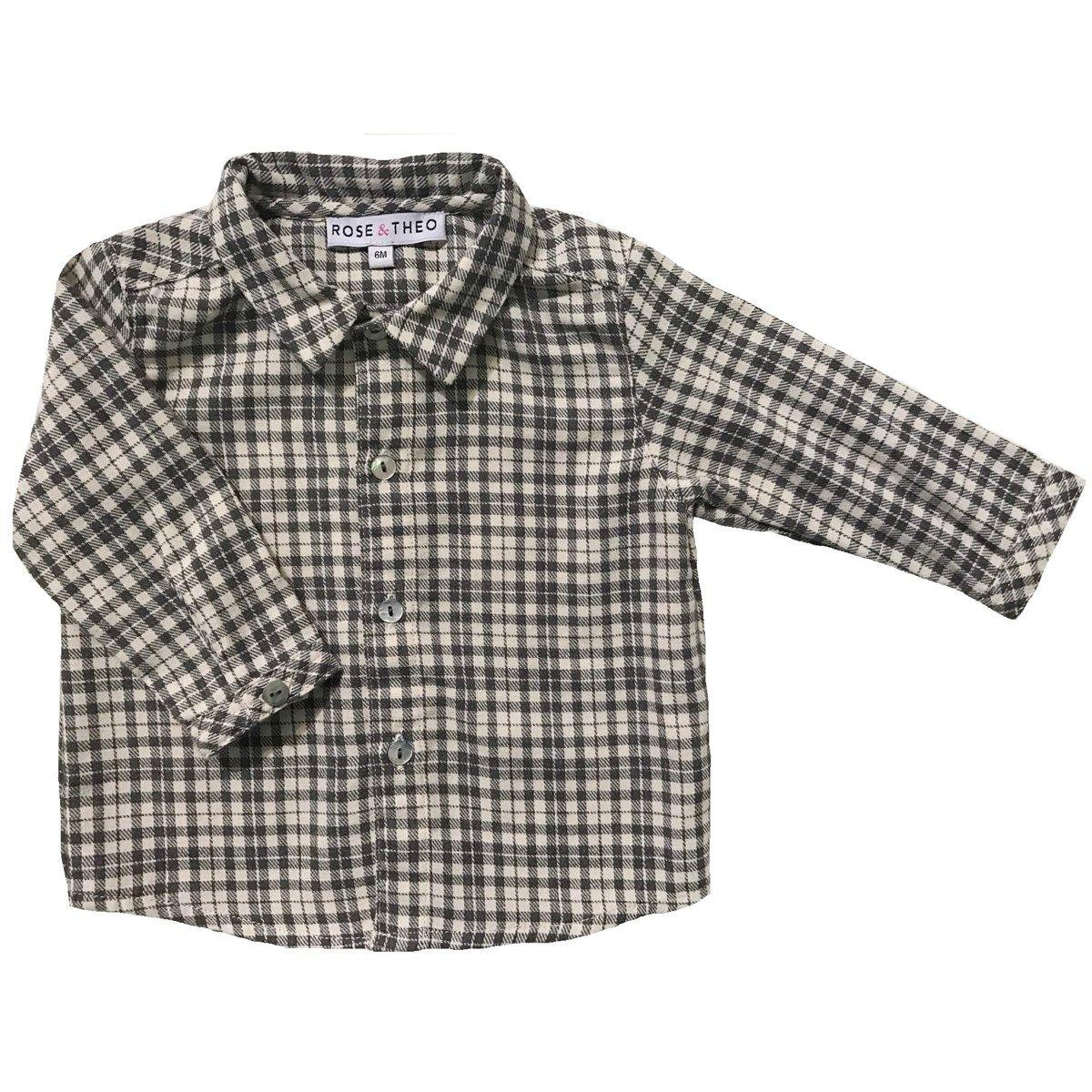 Chemise en coton à carreaux LAUREL