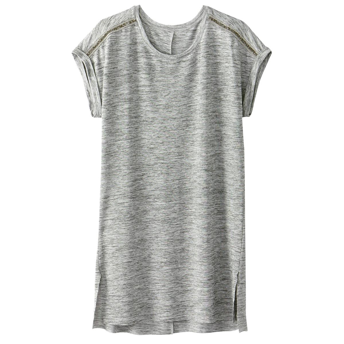 T-shirt com adorno