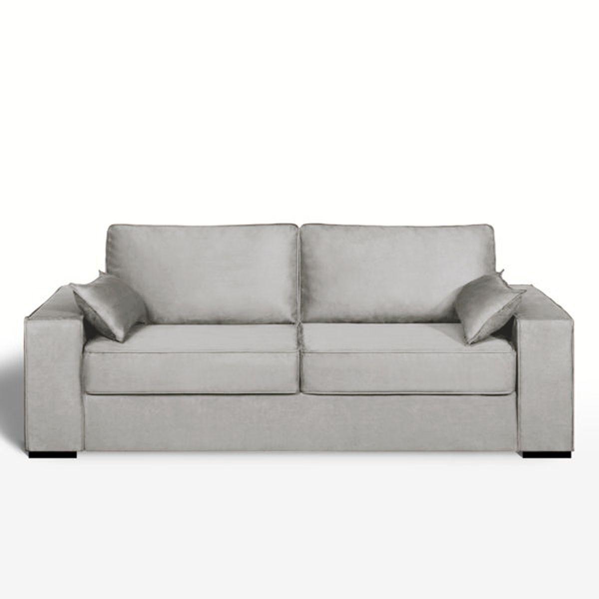 Canapé lit, microfibre, bultex, Cécilia