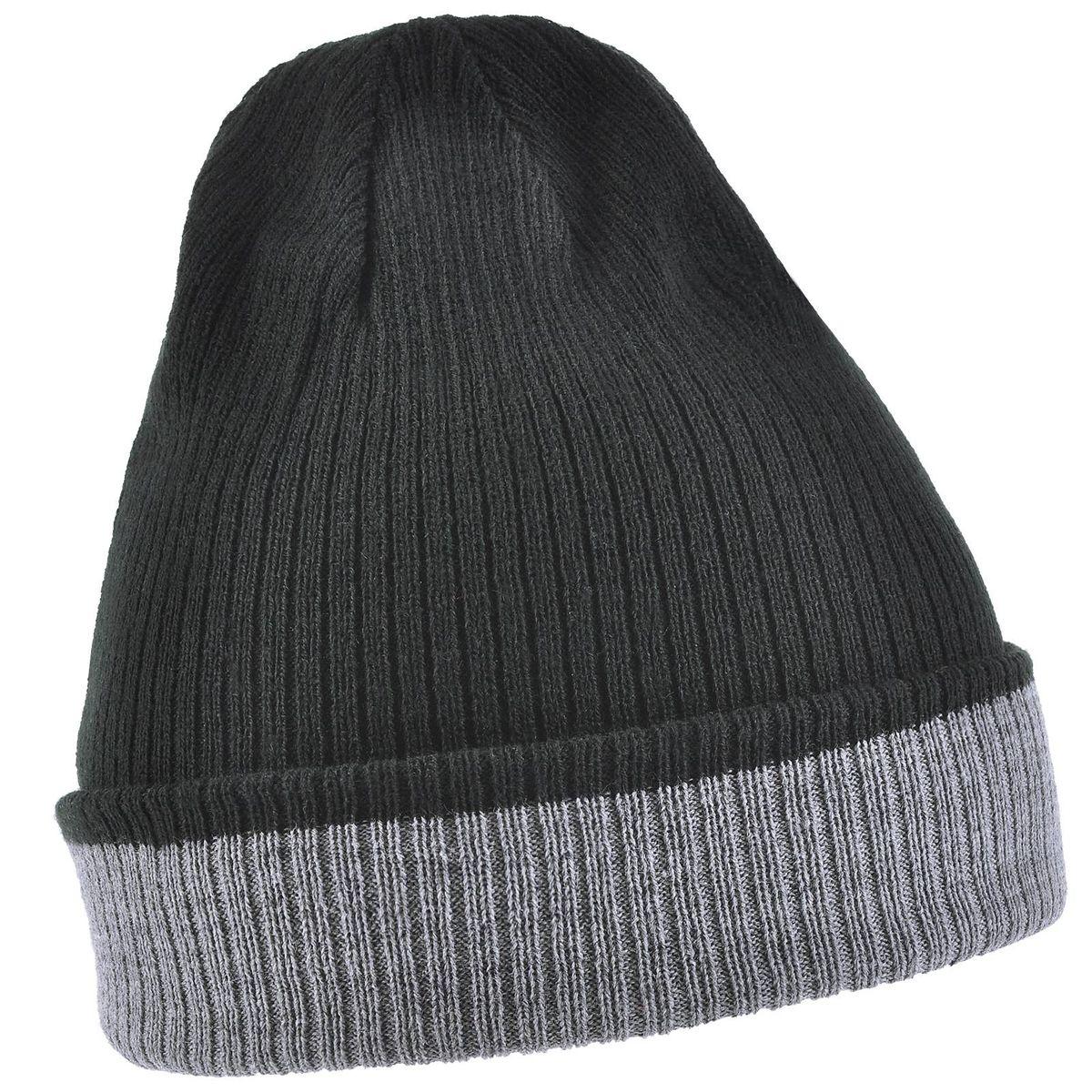 Bonnet réversible UMA Noir - Gris