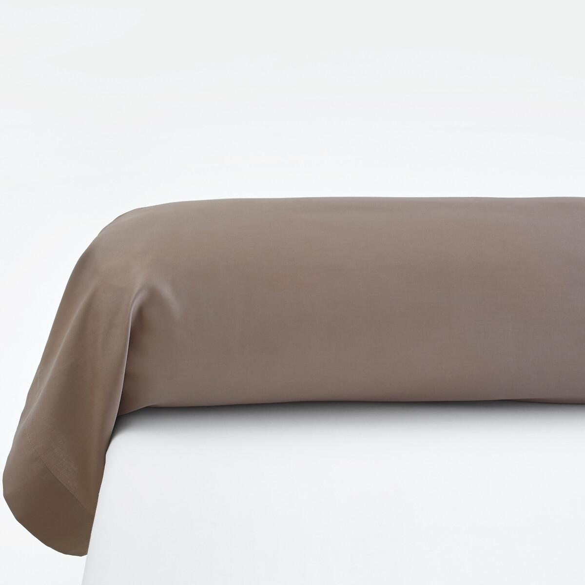 Fronha de travesseiro liso, em cetim de algodão
