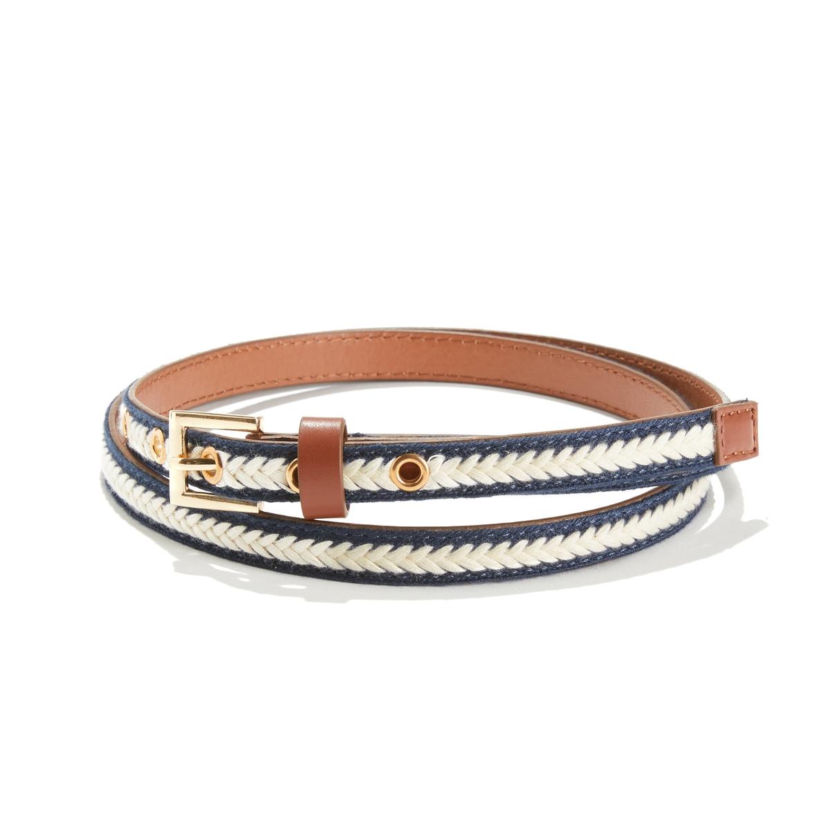 Cinturón con bordado fino