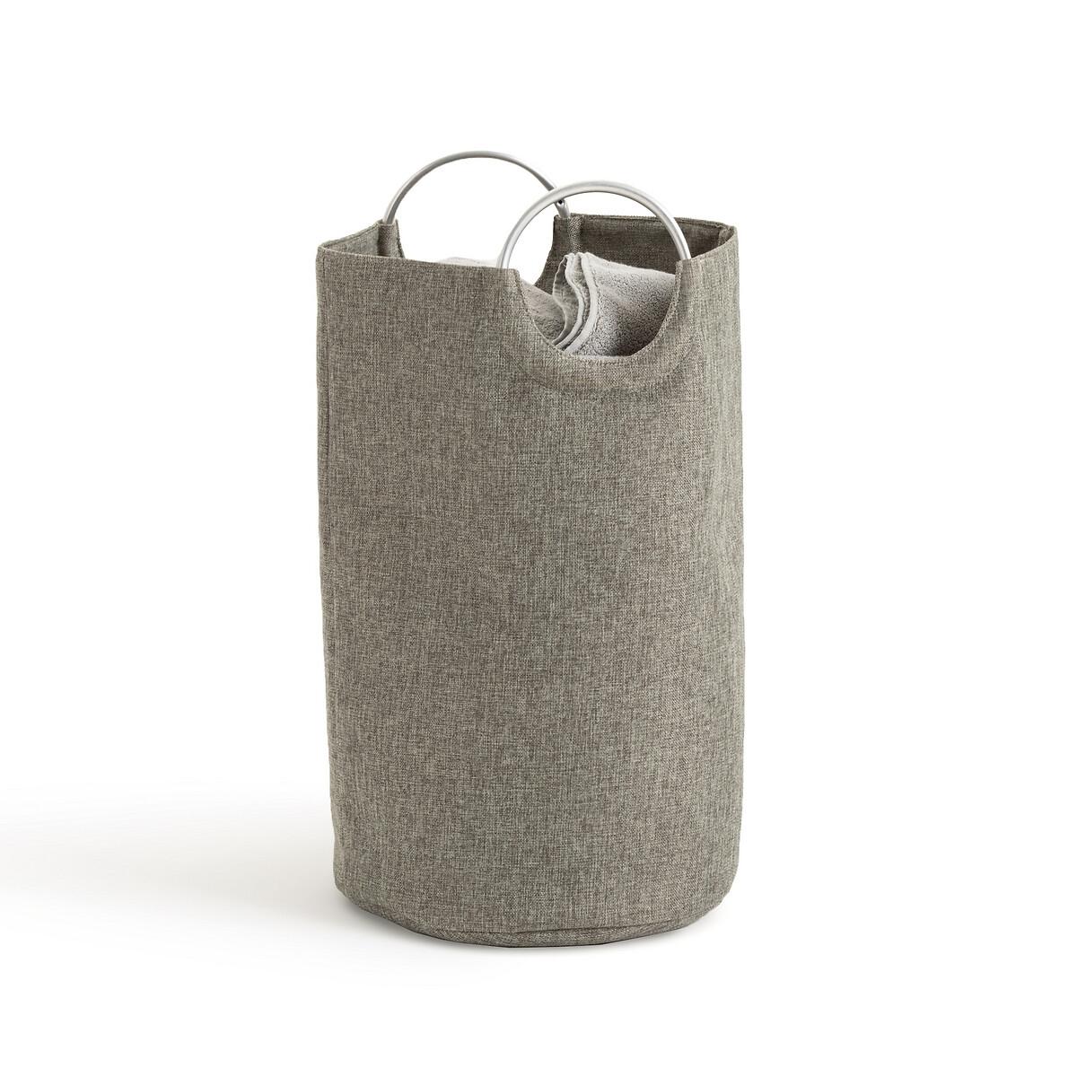 Фото - Корзина LaRedoute Для белья из ткани Louison единый размер серый корзина laredoute для белья из ткани louison единый размер серый