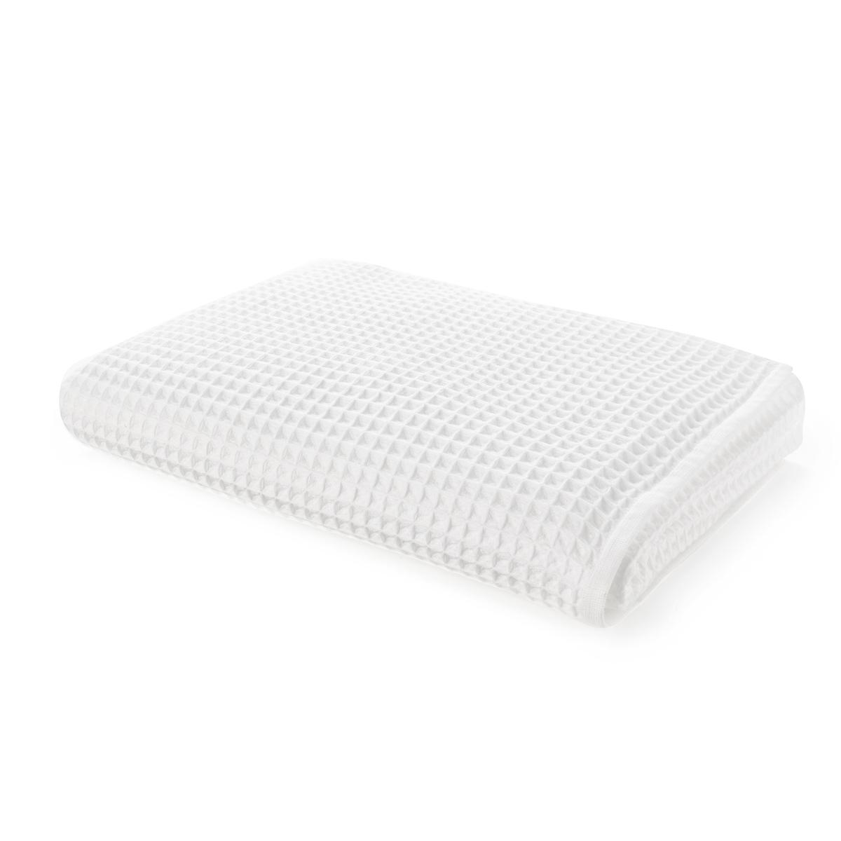 Полотенце La Redoute Для рук из вафельной ткани SCENARIO 50 x 100 см белый полотенце la redoute для рук из махровой ткани хлопок с люверсом единый размер бежевый