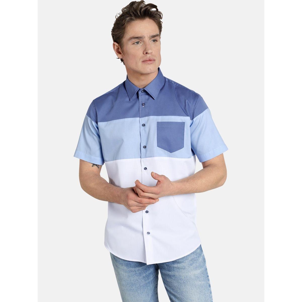 Chemise à manches courtes blockingbeat