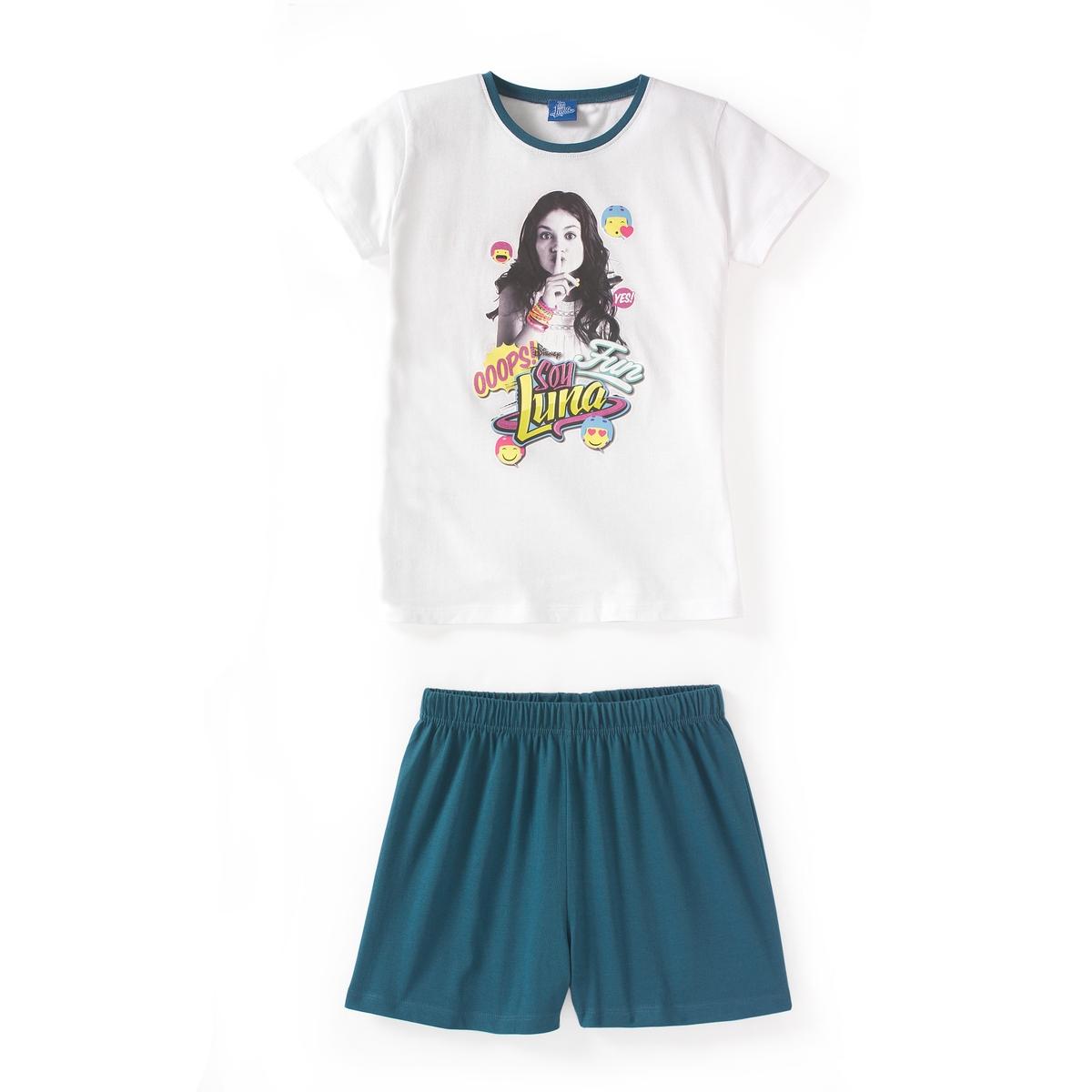 Пижама с шортами, 6-14 лет soy luna live paris
