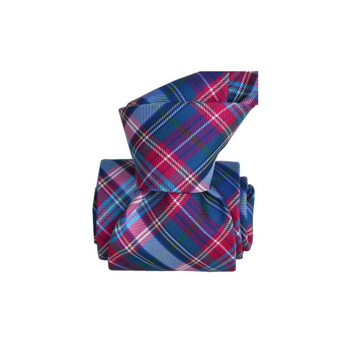 Cravate classique soie scotland