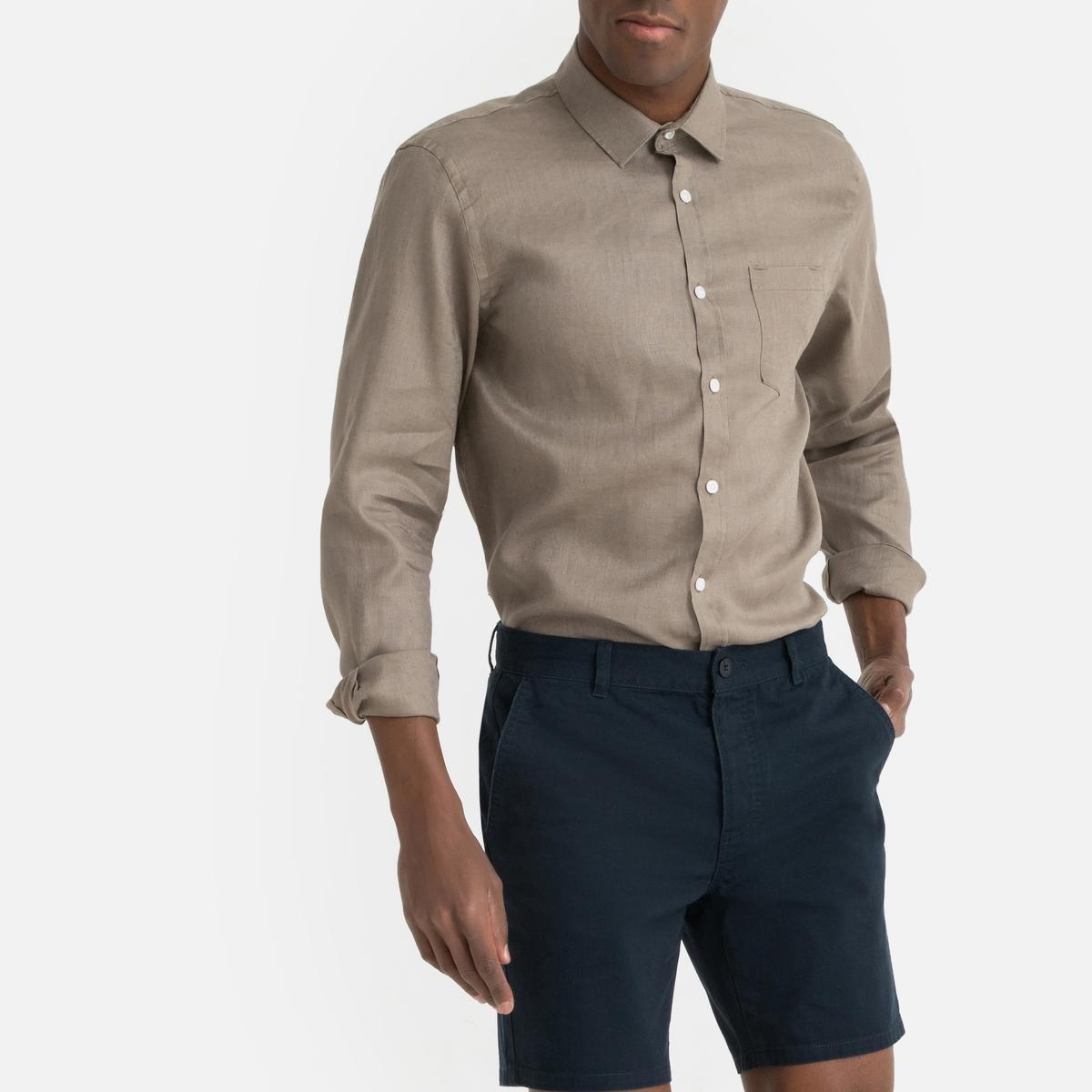 Camisa CLEMENT regular de lino