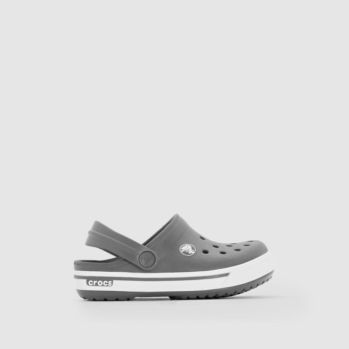 Сабо CROCS CROCBAND II.5 Clog KidsОбновленный стиль и комфорт как всегда на высоте : Новая версия известной модели Crocband™ ! Новый дизайн с промежуточной вставкой в подошву в спортивном стиле , совершенная система вентиляции носка, ремешок сзади из материала Croslite™ для лучшей поддержки стопы, устойчивость к влаге (они ультралегкие и невесомые ! ) … Настоящая обувь от CROCBAND II .5 Clog Kids, обновленная версия Crocband™, которые придутся по вкусу нашим детям !<br><br>Цвет: серый,темно-синий