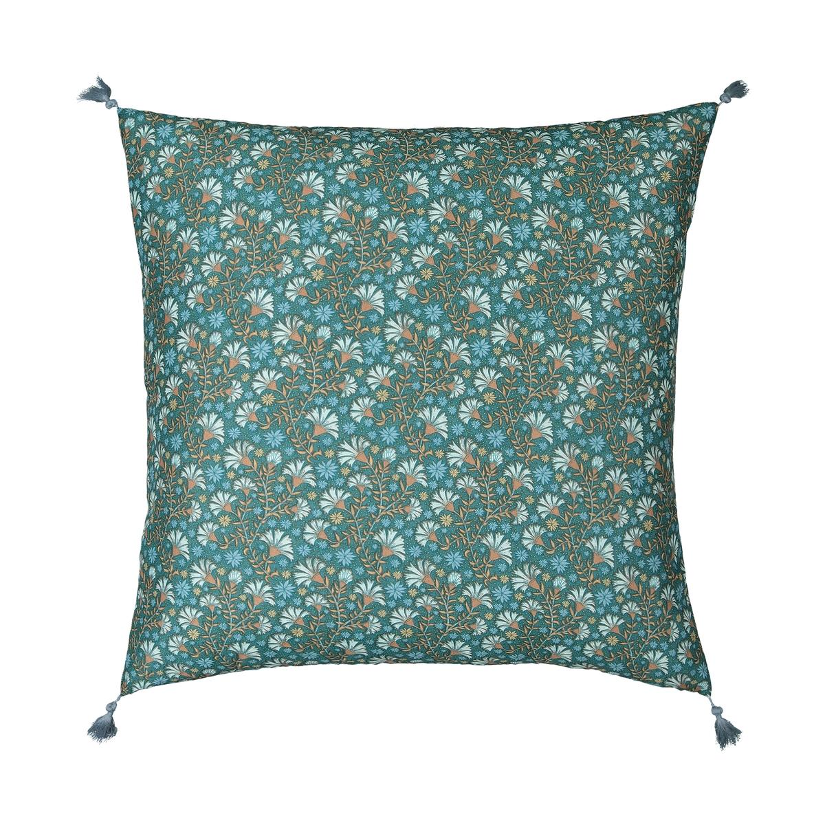 Kalyan Square Tasselled Pillowcase