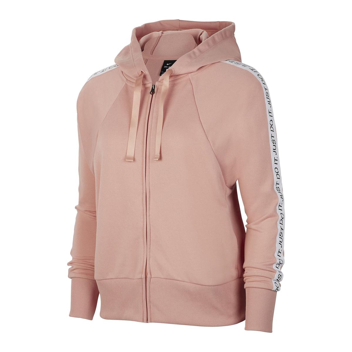 Sudadera chaqueta corta con cremallera y capucha Dry Get Fit