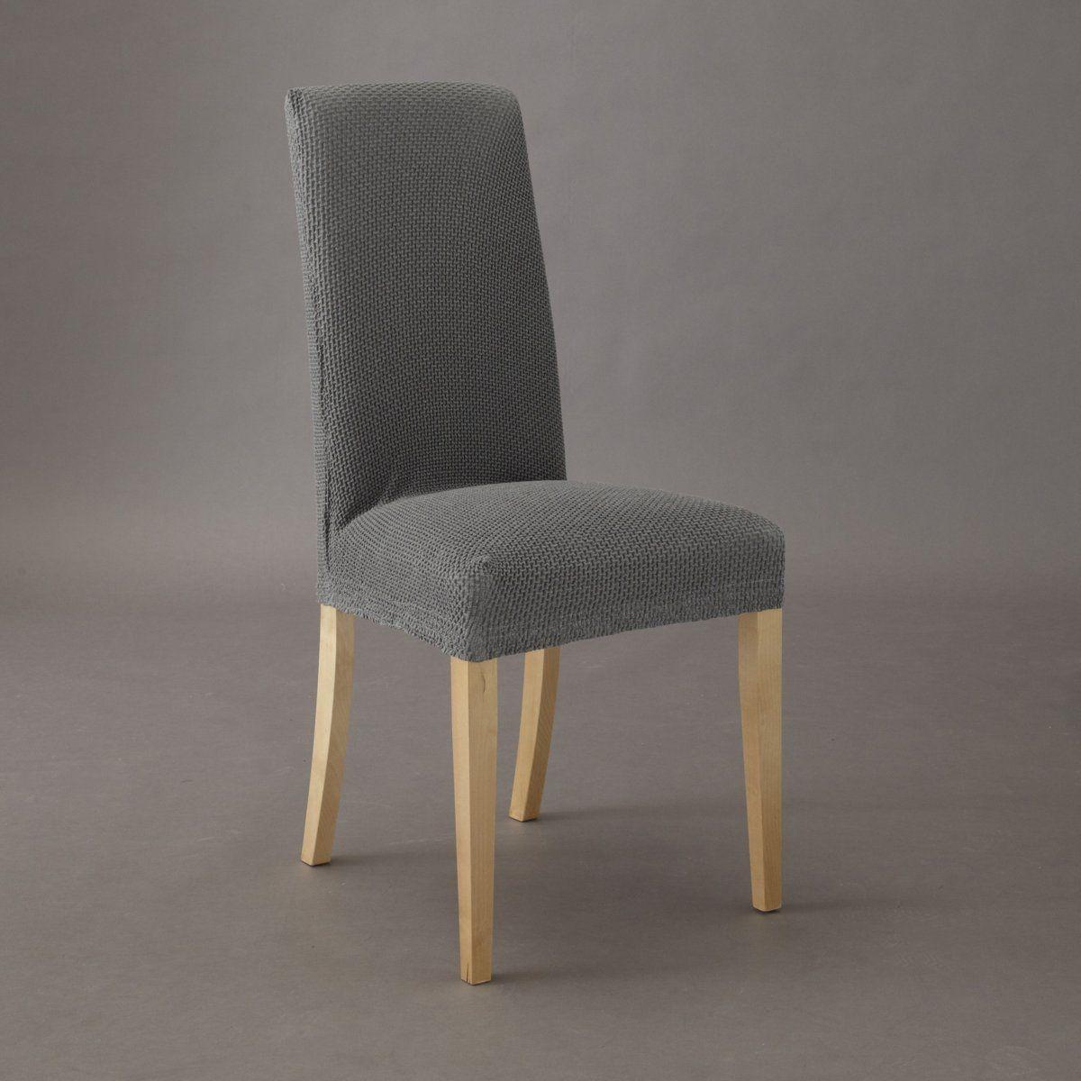Housse extensible pour chaise gaufrée AHMIS