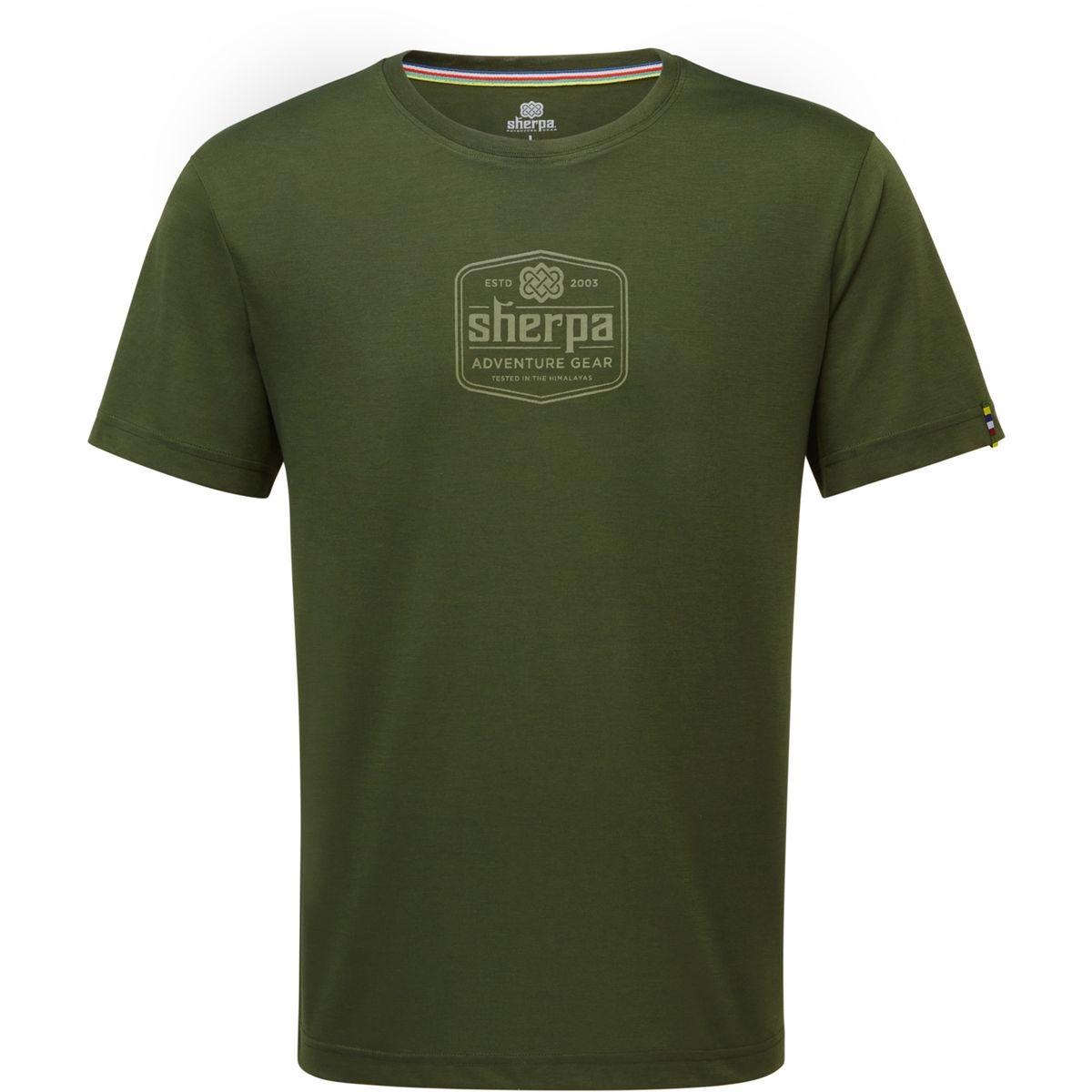 Tashi - T-shirt manches courtes Homme - vert