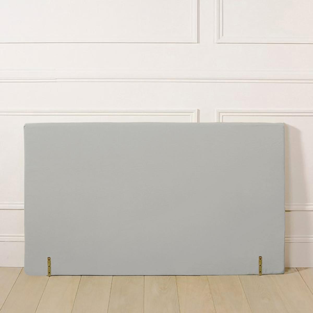 Чехол LaRedoute Для изголовья кровати прямой формы из поликоттона 160 x 85 см серый